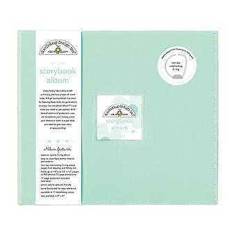 Doodlebug Design Mint 12x12 Inch Storybook Album
