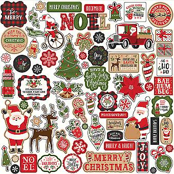 Echo Park meine Lieblings Weihnachten 12 x 12 Zoll Element Aufkleber