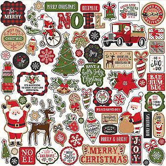 Echo Park My Favorite Christmas 12x12 Inch Element Sticker
