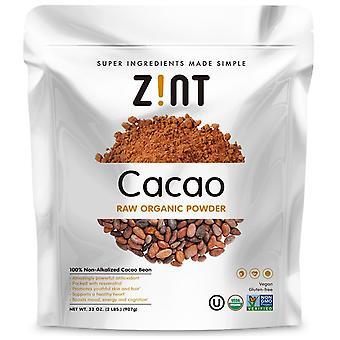 Zint, Raw Organic Cacao Powder, 32 oz (907 g)
