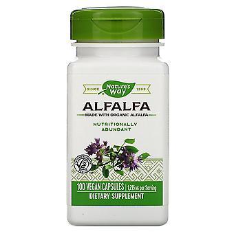 Nature-apos;s Way, Luzerne, 1 215 mg, 100 capsules végétaliennes