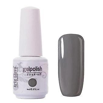 Nail Soak Off Led Uv Gel Lacquer Glitter 8ml Nail Polish