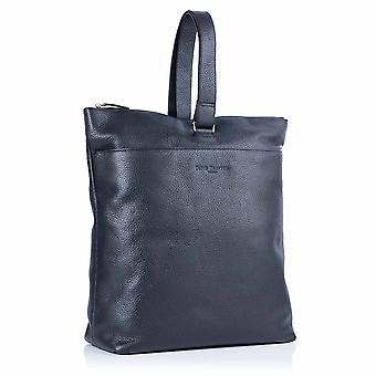 Molly Leather Tote Backpack in Slate Grey Richmond Chrome Free Leather