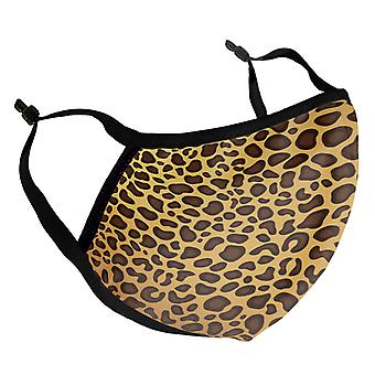 Leopard Print Adult Reusable Fabric Face Mask