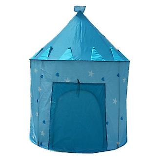 9 Colors Play Tent Portable Foldable Boy Girls Prince Tent, Boy Castle Play