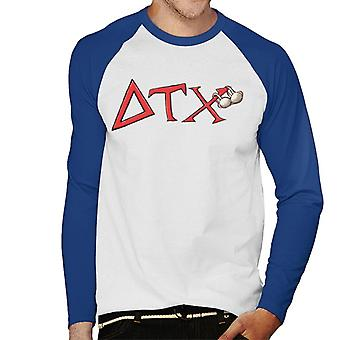 Animal House DTX Red Logo Men's Baseball Long Sleeved T-Shirt