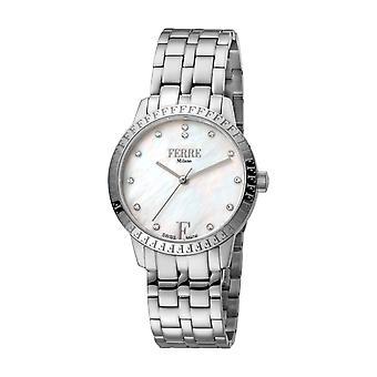 Ferre Milano Women's FM1L128M0221 MOP Dial Stainless Steel Wristwatch