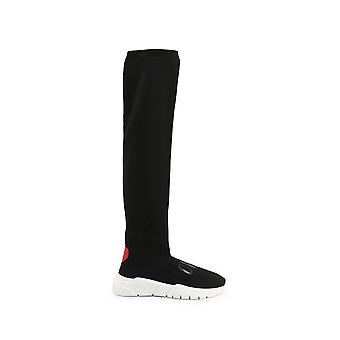 الحب موسكينو - الأحذية - الأحذية - JA15133G1BIQ_0000 - السيدات - أسود، أحمر - الاتحاد الأوروبي 40