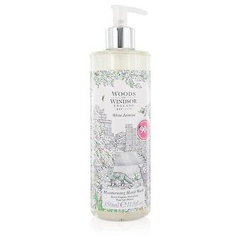 White jasmine hand wash by woods of windsor 552627 349 ml