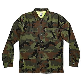 DC Mad Stopper Long Sleeve Overshirt - Camo