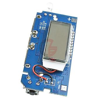 Dual Usb 18650 Lithium Battery Charging Board Mobile Power Bank Charging Module Pcb Board Lcd Display