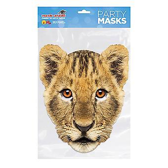 Masque-arade Lion Cub Party Face Mask