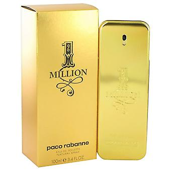 1 Million Eau De Toilette Spray By Paco Rabanne 3.4 oz Eau De Toilette Spray