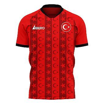 טורקיה 2020-2021 ערכת כדורגל קונספט ביתי (Libero)