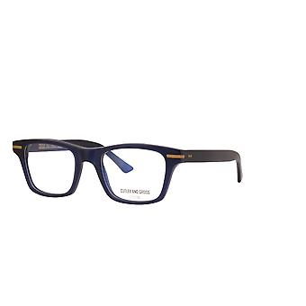 Cutler and Gross 1337 03 Classic Navy Blue Glasses