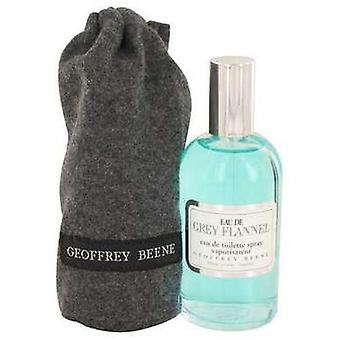Eau De Grey Flannel By Geoffrey Beene Eau De Toilette Spray 4 Oz (men) V728-412539