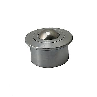 45x31mm Ball Metal Transfer Bearing Unit 140kg Load Carbon Steel Rollers