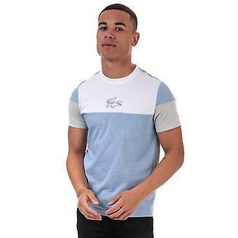 Men's Lacoste T-Shirt en bleu