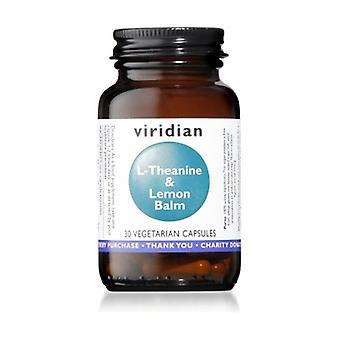 L-theaniini 200 mg ja sitruunamelissa 30 kapselia