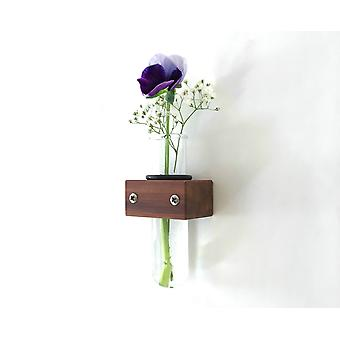O-ring Removable Small Wall Vase Tube