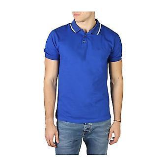 إمبوريو أرماني -براندز - ملابس - بولو - 3H1F82_1J60Z_0953 - رجال - أزرق - L
