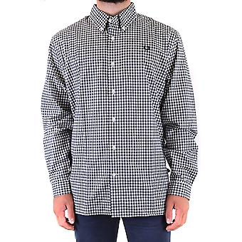 Fred Perry Ezbc094077 Men's Multicolor Cotton Shirt