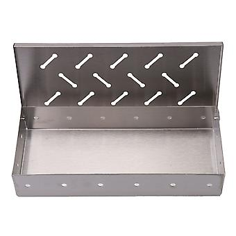 9��Smoker Box A Type Grill Box Work with Wood Chips add Delicious Smoke