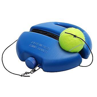 Bærbar tennis trening hjelpemidler verktøy, med elastisk tau praksis selvplikt