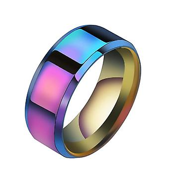 New Design Black Titanium Stainless Ring/men High Quality Wedding Jewelry