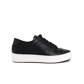 Michael By Michael Kors 43t0kbfs5l001 Women's Black Leather Sneakers