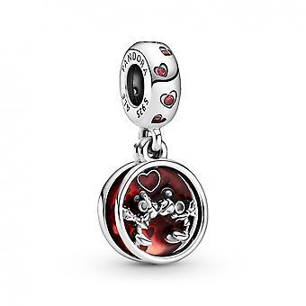 Charm Pendant Disney Amour et Baisers de Mickey et Minnie 799298C01 Pandora Bijoux