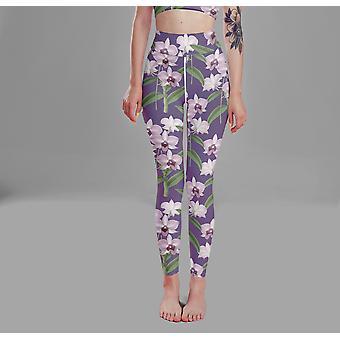 Floral Women's High Waist Yoga Leggings