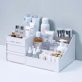 Makeup Organizer For Cosmetic Storage Box, Desktop Jewelry, Nail Polish, Makeup