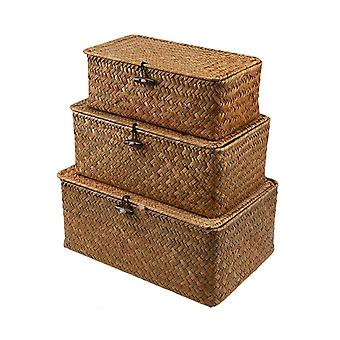 Seagrass Storage Baskets Woven Seagrass Baskets for Home Organization