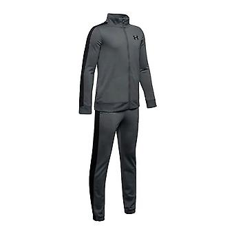 Under Armour Kids Fitness Training Knit Tracksuit Suit Set Grey