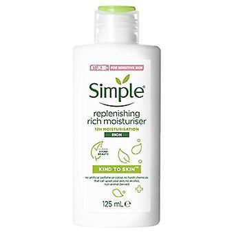 Simple Replenish Rich Lotion 125ml