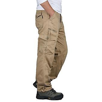 Cargo Pants, Men Outwear Multi Pocket, Tactical Military Army Straight Slacks