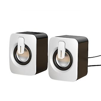 Bluetooth/ Usb Computer Speakers, 3d Stereo Bass Sound, Subwoofer Music Player