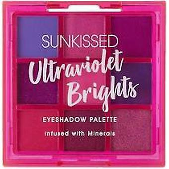 Sunkissed ultraviolett ljus ögonskugga Palette 1g x 9