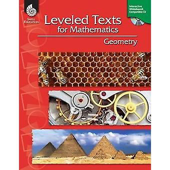 Leveled Texts for Mathematics: Geometry [with Cdrom] [With CDROM]