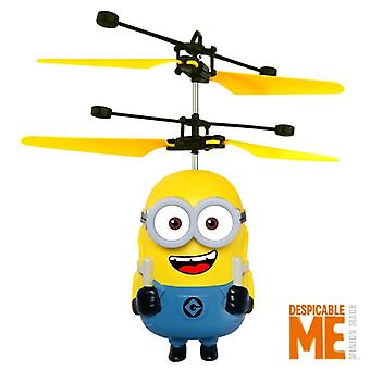 Minions Drone Rc Helicopter, Aircraft Mini Fly Flashing Helicopters, Hand