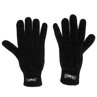 New Peter Storm Men's Thinsulate Knit Gloves Black