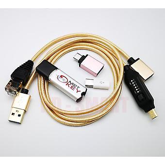 Xiao Mi Mei Zu Edl kábel minden boot kábel szett könnyű kapcsolási és micro usb