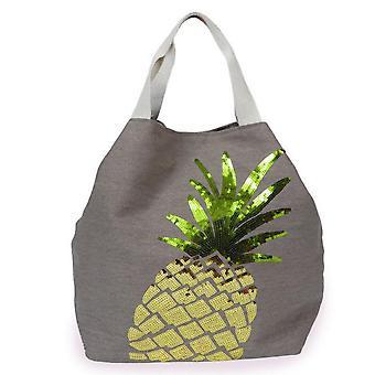 Powder Boho Pineapple Beach Bag | Stone