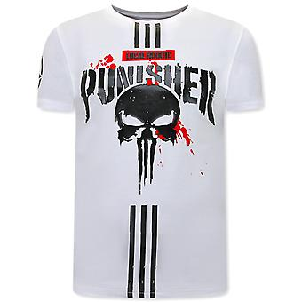 Punisher T-shirt - White