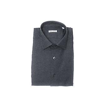 Robert Friedman mäns grå skjorta