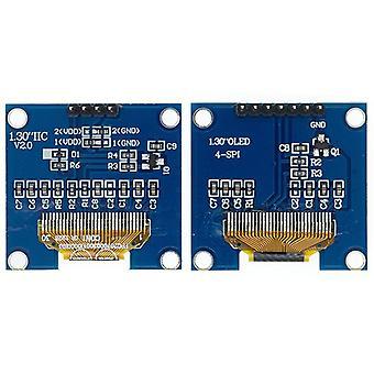 """1.3""""- スパイ/iic I2c、通信、Oled LCD、Ledディスプレイモジュール"""