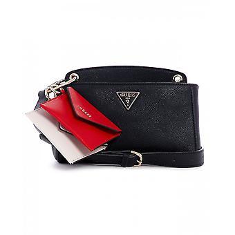 Woman's Guess Handbag/ Shoulder Strap With Kirby Mini Crossbody Clutch B21gu169