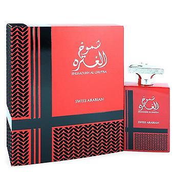 Shumoukh Al Ghutra Eau de Parfum Spray Sveitsin Arabian 3,4 oz Eau de Parfum Spray