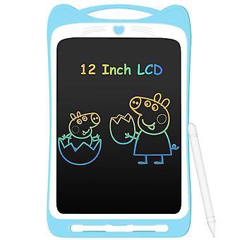 Agptek 12inch barevný lcd psací tablet pro děti, přenosné elektronické psací prkno kreslicí prkno wof45929